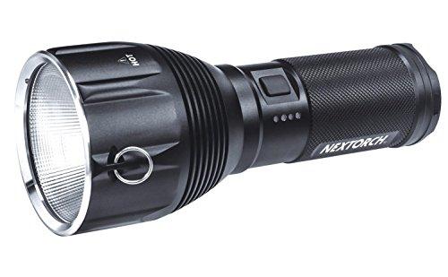 NEXTORCH Saint Torch 10 3200 LM Lampe de Poche à LED Haute Performance, Noir, One Size