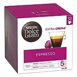 Nescafé Dolce Gusto Espresso - Café - 90 Capsules (Pack de 3 boîtes XL x 30)