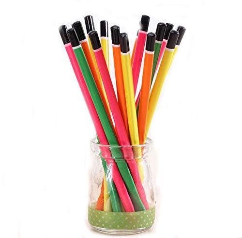 Lápiz, Tilo, Color Puro Hb Negro Pluma Triangular De Cuatro Colores Premio De La Escuela Primaria Papelería Regalos, A