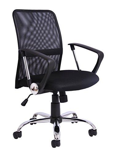 Office Essential Mesh Gas Lift Mid Höhe verstellbar Stuhl, Anderen–Schwarz