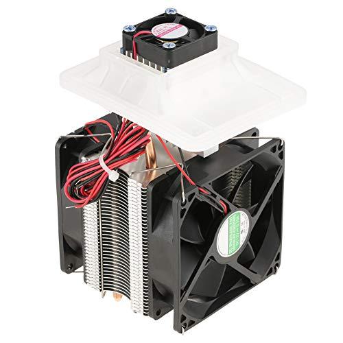 Koelapparaat met lucht, 12 V, 72 W, koelsysteem voor koeling, elektrische ladder, 16,5 x 9,5 x 9,5 cm.
