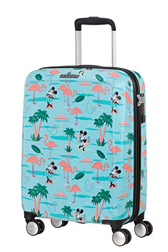 American Tourister Funlight Disney Hand Luggage, 55 cm, 36 liters, Multicolour (Minnie Miami Beach)