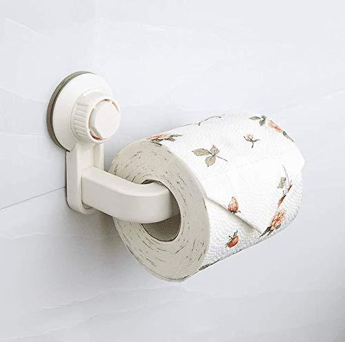 Plastic toiletpapier houder zuignap zonder boren badkamer accessoires enkele muur mount
