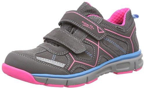 Superfit LUMIS 500411, Mädchen Sneakers, Grau (STONE KOMBI 06),  25 EU