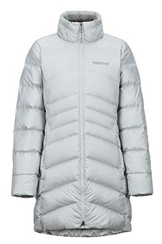Marmot Damen Wm's Montreal Coat' Leichte Daunenjacke, 700 Fill-Power, Warmer Parka, Wintermantel, Wasserabweisend, Winddicht, Bright Steel, S