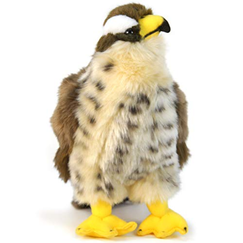 VIAHART Percival The Peregrine Falcon | 9 Inch Hawk Stuffed Animal Plush Bird | by Tiger Tale Toys