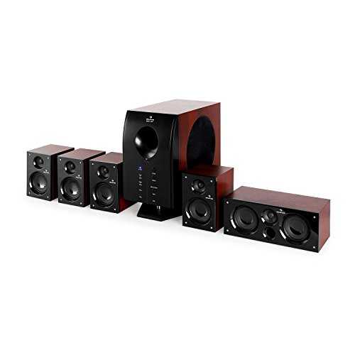 AUNA Area 525 WD - 5.1 Surround Sound System, Home Theater System, 125 Watt...