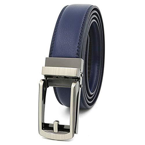 Alftek leren ratelgordel geen gaatjes multifunctionele jeans broek riem voor mannen vrouwen Dagelijkse slijtage
