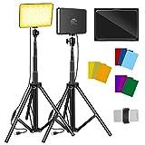2 Packs Video Lighting Kit,...