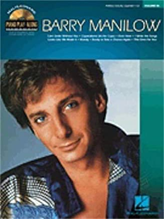 Hal Leonard piano play-along volume # 86-barry Manilow (Book and CD)