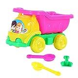 LIOOBO 4 Stücke Strand Spielen Sand Auto Sand Kipper Spielzeug