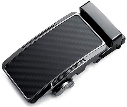30mm Ratchet Belt Buckle Only for 1 1/4 Slide Belt Strap, CHAOREN Automatic Click Buckle Adjustable