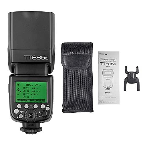 GODOX Thinklite TT685F TTL Flash de la cámara Speedlite GN60 2.4G Transmisión inalámbrica para Fuji X-Pro2 X-T2 X-T1 X-T1 X-X1 X-X1T