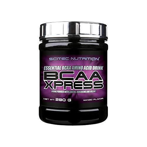Scitec Nutrition BCAA Xpress, Bebida en polvo de aminoácidos esenciales BCAA con leucina, isoleucina y valina, 280 g, Mango