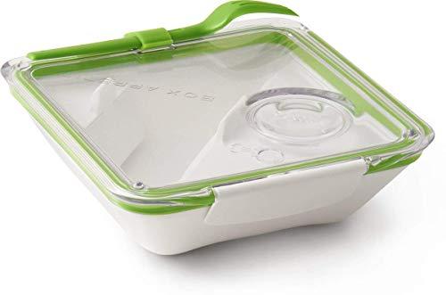 Black Blum - Box Appetit Blanc/vert - Boîte déjeuner - Boite repas, lunch box