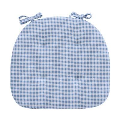 Linka 1pc Seat Cushion For Kitchen Chair Cotton blending Seat Pad Chair Cushion Trapezoid Shape
