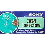 SONY SR621SW(364) 1個(バラ売り)日本製 時計用酸化銀ボタン電池