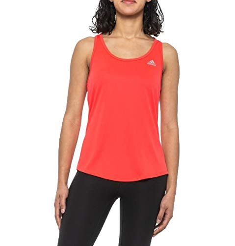 adidas Camiseta sin mangas para mujer Run It - rojo - Medium