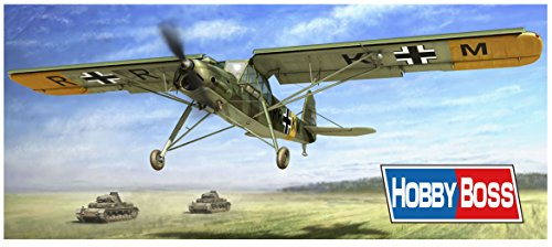 Hobbyboss 80180' Fiesleler Fi-156 A-0/C-1 Storch Model Kit, 1:35 Scale