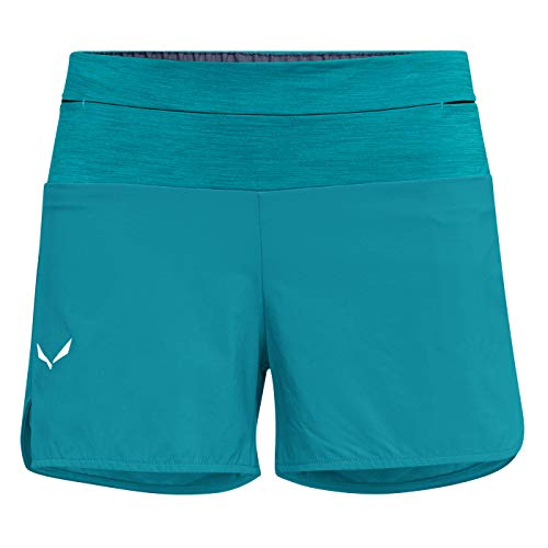 Salewa PEDROC 2 DST W Shorts Femme Ocean FR : L (Taille Fabricant : 46/40)