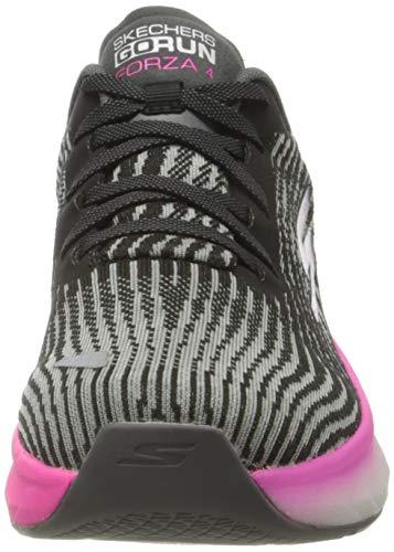 Skechers Forza 4, Zapatillas Mujer, Black, 39.5 EU
