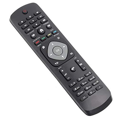 Shipenophy Mando a Distancia Universal Mando a Distancia fácil de agarrar sin programación, para TV Digital, para Smart TV de Philips, para TV LED LCD