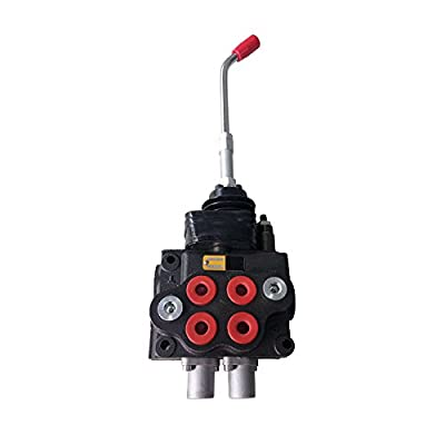 Hydraulic Loader Directional Control Valve LV22RFSTKAB Joystick Regen - 10GPM 4000PSI by Max Motosports