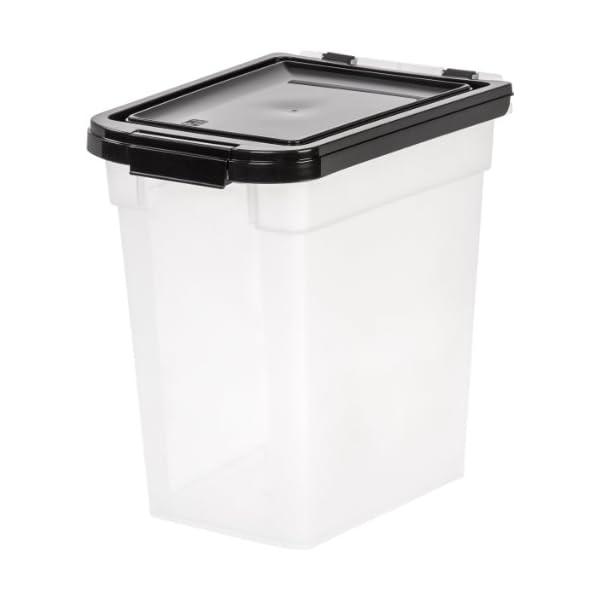 IRIS USA Nesting Airtight Pet Food Container, Medium MP-230