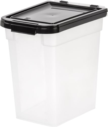 IRIS USA Nesting Airtight Pet Food Container, Medium MP-230