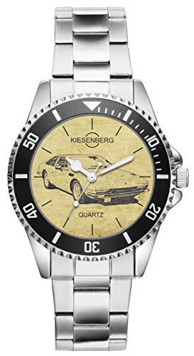 Geschenk für Lamborghini Jarama Oldtimer Fahrer Fans Kiesenberg Uhr 6377