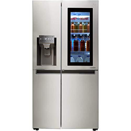 LG InstaView™ Door-in-Door™ GSX961NSVZ Wifi Connected American Fridge Freezer - Stainless Steel