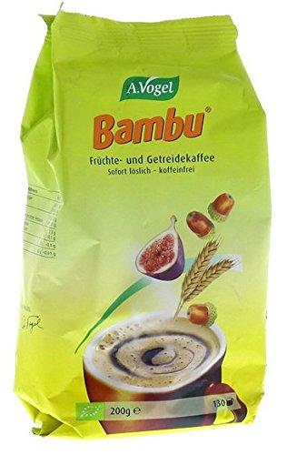 A.Vogel - Bambu Bio Instant (vruchten- en granen-koffie) navulzak, per stuk verpakt (1 x 200g) - BIO