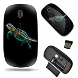Unique Pattern Optical Mice Mobile Wireless Mouse 2.4G Portable for Notebook, PC, Laptop, Computer - Sea Turtle