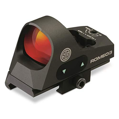 Sig Sauer SOR31002 Romeo 3 Miniature Reflex Sight with Riser...