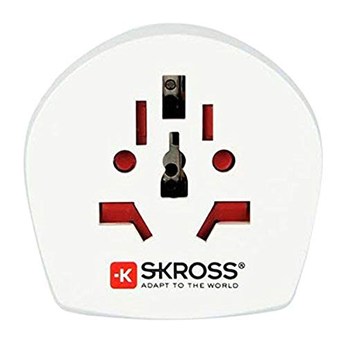 Skross World to UK - Adaptador de viaje,...