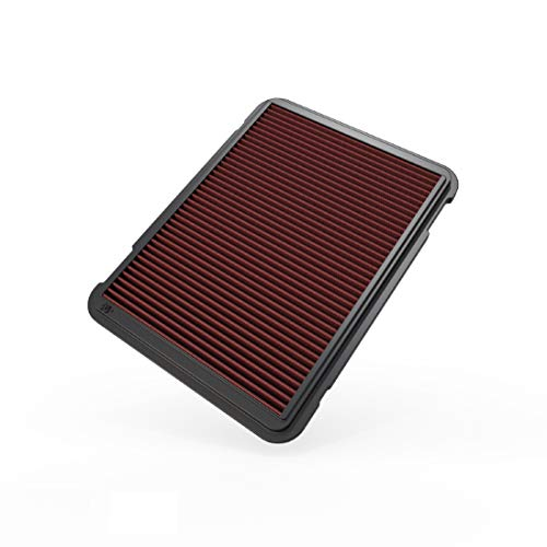 K&N Engine Air Filter: High Performance, Premium, Washable, Replacement Filter: 1998-2017 Toyota/Lexus SUV (Land Cruiser 76/78/79, Land Cruiser Prado, Land Cruiser, LX470), 33-2146