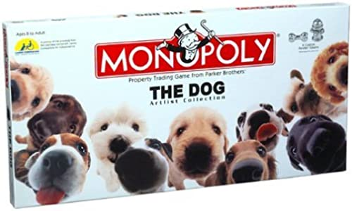 Monopoly The Dog Artlist Collection