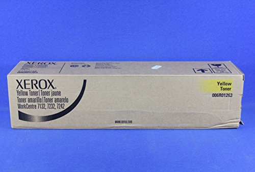Xerox WorkCentre 7132 Yellow Toner Cartridge voor laserprinters, geel, 8000 pagina's, laser, 96 x 414 x 101 mm, 498 g
