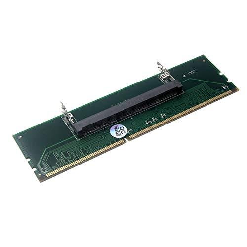 BiaBai 1,5 V Ddr3 204 Pin Laptop So-Dimm Zu Desktop Dimm Steckplatz Speicheradapter Notebook-Speicher Ddr3 zu Desktop Adapter