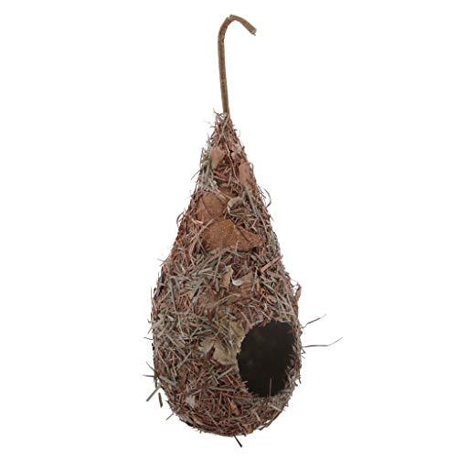 Sharplace Nichoirs Nid D'oiseau Cage Oiseau/Maison de Lit pour Pigeon Perroquet - E: Goutte d'eau 2