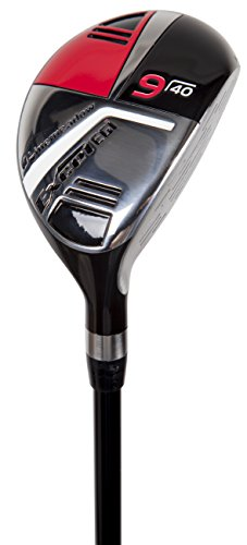 Pinemeadow Golf Men's Excel EGI Hybrid Club, Graphite, 40-Degree, 9, Regular, Right Hand