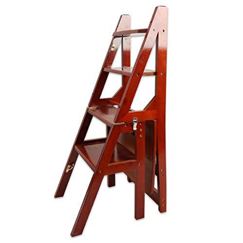 Feste Leiter Leiterrahmen Fuß Schritt Treppenstufenmatte Schritt Matte Hocker Hocker Holz Schritt for Badezimmer Stabilität und Sicherheit (Color : Style-1)