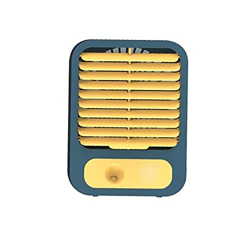 Ventilador Usb,mini Ventilador De Mesa De Velocidad Ilimitada,spray Humectante Ventilador De Viento Fuerte Silencioso De Tres Velocidades Ventilador De Escritorio USB El Escritorio Para Llevar