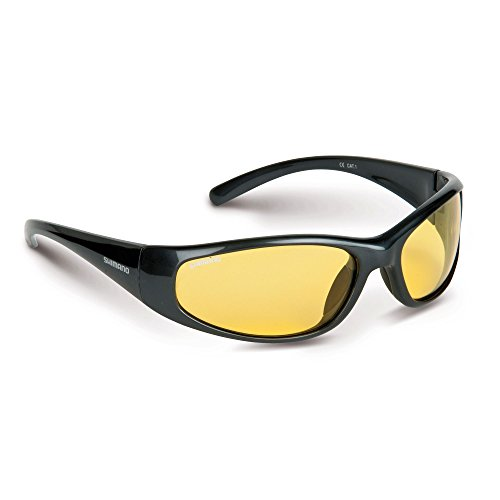 Shimano Sunglasses Curado yellow glasses for bad weather condition by Shimano