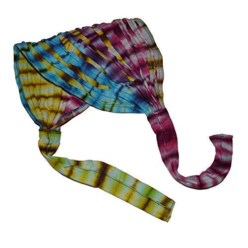Haarband Stirnband Batik Kopfband Kopftuch Schweißband Haarschmuck Sport Fitness Yoga binden (Bunt)