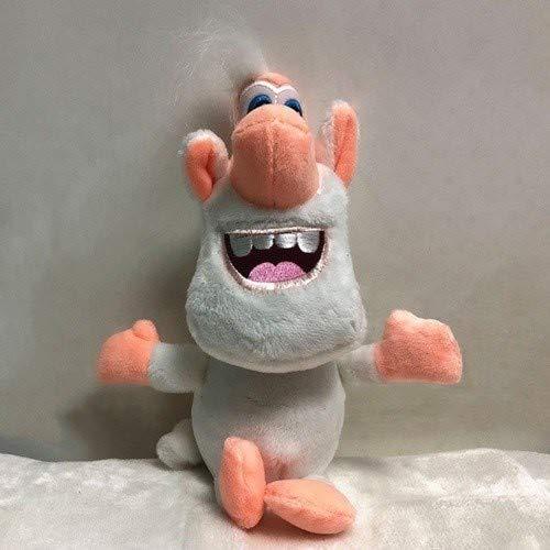 Ycco 27cm Neuheit Klassische russische Animation, Booba Cuddly Plüschtier Puppen Netter Muppets for Kinder, Plüsch Karikatur-Tiere Puppe Figur, Eltern-Kind-Spiele Dekompression Spie