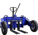 Transpalette tout terrain - transpalette manuel - transpalette dextérieur capacité de charge 1500 kg