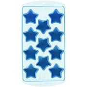 Fairly Odd Novelties Star Shape Flexible 11 Ice Cube Tray Mold Blue Rubber Novelty Gag Gift