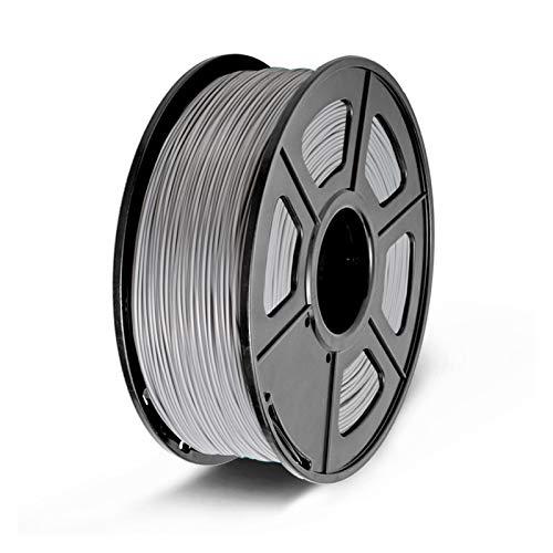 MMD SPLA Filament 1.75 mm 1kg S PLA 3D Printer Filament Good Toughness 3d Printing Materials (Color : SPLA Grey)