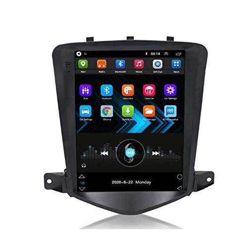 ADMLZQQ Android 9.0 Estéreo Reproductor Multimedia GPS Radio para Chevrolet Cruze 2008-2012, FM/Bluetooth/Controles del Volante/Cámara De Visión Trasera,4 Cores 4g+WiFi:2+32g